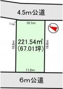 土地つくば市陣場E32 67.01坪 売地茨城県つくば市島名陣場つくばエクスプレス万博記念公園駅1050万円
