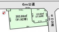 土地つくば市さくらの森 128.86坪 売地茨城県つくば市さくらの森つくばエクスプレスつくば駅1800万円