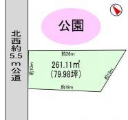土地つくば市花畑3 78.98坪 売地茨城県つくば市花畑3丁目つくばエクスプレスつくば駅1050万円