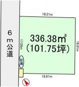 土地つくば市流星台 101.75坪 売地茨城県つくば市流星台つくばエクスプレスつくば駅1600万円