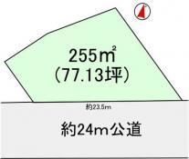 土地つくば市松野木 77.13坪 売地茨城県つくば市松野木つくばエクスプレスつくば駅1500万円