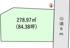 土地稲敷市犬塚 84.38坪 売地茨城県稲敷市犬塚JR常磐線(取手~いわき)土浦駅160万円