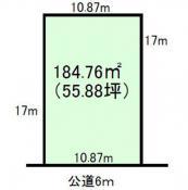土地つくば市天久保4 55.88坪 売地茨城県つくば市天久保4丁目つくばエクスプレスつくば駅1650万円