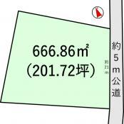 土地つくば市吉沼 201.72坪 売地茨城県つくば市吉沼つくばエクスプレスつくば駅780万円