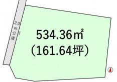 土地土浦市小松2 161.64坪 売地茨城県土浦市小松2丁目JR常磐線(取手~いわき)土浦駅980万円