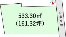 土地つくば市妻木 161.32坪 売地茨城県つくば市妻木つくばエクスプレスつくば駅1610万円